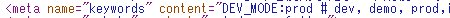 .env のパラメータを試験的に EJS 内で出力。コメントも含めてパラメータに格納されてしまっていることが分かる。