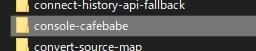 node_modules の中に発見